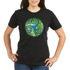 Celtic Triskele Gre Tee