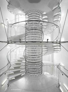 SOMERSET HOUSE STAIR by Eva Jiricna Architects