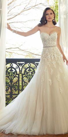 12 Best Sophia Tolli Wedding Dresses ❤ See more: http://www.weddingforward.com/sophia-tolli-wedding-dresses/