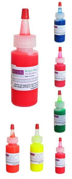 Resin Obsession bright translucent color pigments - single 1 ounce col