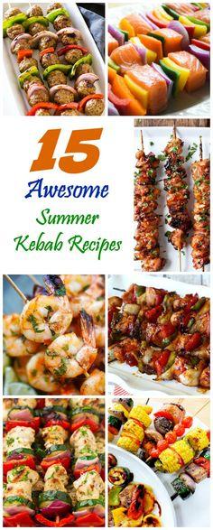 15 Awesome Summer Kebab Recipes - The Ramblings of an Aspiring Small Town Girl