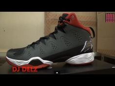 d0dd4d9986884d Air Jordan Melo M10 Tinker hatfield Anthracite Gym Red Sneaker Review + On  Feet W   DjDelz Dj Delz