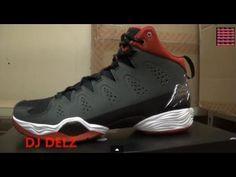 00e67ea1d5e2e0 Air Jordan Melo M10 Tinker hatfield Anthracite Gym Red Sneaker Review + On Feet  W   DjDelz Dj Delz