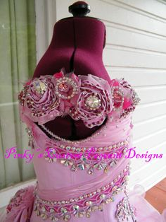 Girls' Dresses (Sizes 4 & Up) for sale Glitz Pageant Dresses, Pageant Hair, Ball Gown Dresses, Swarovski, Special Girl, Little Girl Hairstyles, Stylish Girl, Dress Making, Girls Dresses