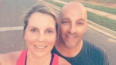 Great run with my girl Jackie Burkhalter @jburk920 in Johns Creek. - @ToddBurkhalter