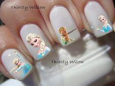 Disney Frozen Elsa Nail Decals