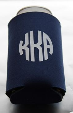$10 Southern Proper Monogrammed Koozie, nice gift idear.