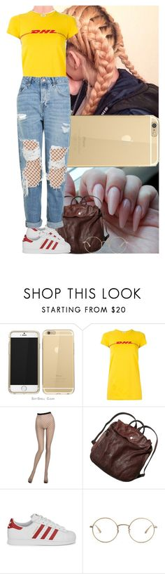 """Something different"" by msixo ❤ liked on Polyvore featuring Vetements, La Perla, Free People, adidas Originals, The Row and Topshop"