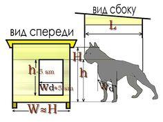 Зимняя будка для собакена