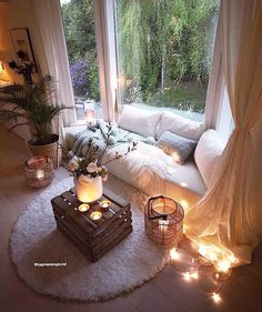 Bohemian Style Home Decors with Latest Designs - Bohemian Home Bedroom Living Pequeños, Living Room Decor, Bedroom Decor, Cozy Bedroom, Bedroom Bed, Design Bedroom, Modern Living, Bohemian Style Home, Bohemian Living
