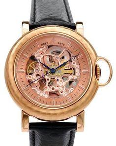 Luxstyle4u - ADEE KAYE AK7119-MRG/BK Brand New Gentlemens Wrist/ Pocket Automatic Mechanical Watch Combination, $153.00