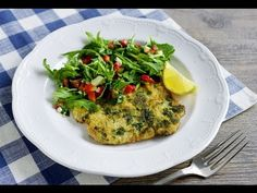 Parmesan Veal Milanese by chef Victor Laplaca