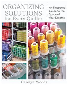 Now that it's officially spring, you'll want to get a jump on your spring cleaning. If you're overwhelmed by your quilting supplies, take a look at this must-read by @C Publishing that includes some very handy ways for you to organize your fabrics, threads, and more. These tips come from some top studio designs, so don't miss out!