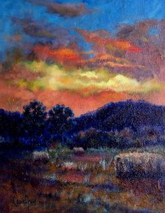 Original Landscape Oil Painting Impressionist by LaurieGrayStudio, $225.00 Beautiful work!l