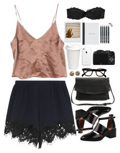 """""""Untitled #2781"""" by wtf-towear ❤ liked on Polyvore featuring Chloé, Charlotte Russe, Jeffrey Campbell, CO, Victoria's Secret and Bobbi Brown Cosmetics"""