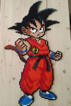 Son Goku - Dragon Ball perler beads by pjurst