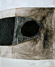 Alberto Burri: Bianco Plastica, 1966 - plastic, acrylic, combustion on cellotex Abstract Painters, Abstract Art, Pablo Picasso, Contemporary Artists, Modern Art, Giuseppe Penone, Alberto Burri, Neo Dada, Art Informel