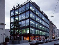 Mixed Use Building Herrnstrasse, München, Herzog & de Meuron by margherita spiluttini