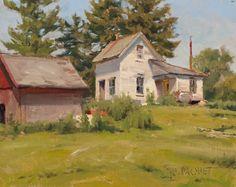 Joseph Paquet   Urban Landscape Paintings
