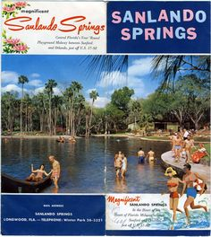 "Visual Ephemera: Sanlando Springs in Longwood, Fla.  Now a private development called ""The Springs."""
