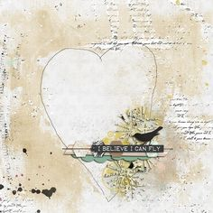 I Believe...Made with Made to Fly Collection by Renan Kneipp {Studio} and Vinnie Pearce