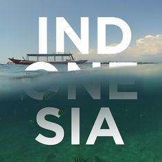 IND-ONE-SIA on Behance Make Money Photography, Unity In Diversity, Graphic Design Tips, Bali, Around The Worlds, Typography, Behance, Branding, Draw