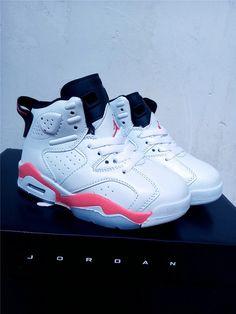3ae80206d authentic where to buy original kids air jordan air jordan 6 white infrared  23 sport red