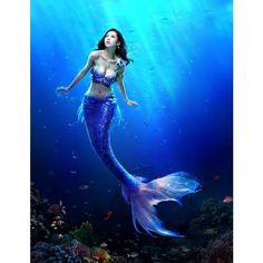 Under The Sea~~Mer RolePlay ❤ liked on Polyvore featuring mermaid, backgrounds, people, fantasy, ocean, phrase, quotes, saying and text