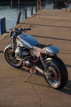 Craig Rodsmith Turbo Guzzi - Iron & Air
