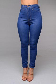 Vintage High Waist Skinny Jeans