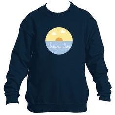 Waimea Bay Ocean Sunset - Hawaii Youth Fleece Crew Sweatshirt