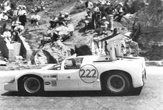 Hap Sharp drives the 2F in the rugged Sicilian mountains. Sharp was enjoying himself, but was not pushing too hard as the Targa Florio course was exceptionally dangerous. Author undetermined.