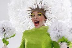 Löwenzahn Kostüm selber machen | Kostüm Idee zu Karneval, Halloween & Fasching