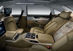Audi A8 W12 Seats