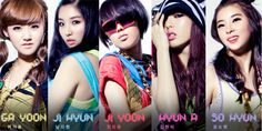 The girls of 4Minute