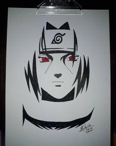 Wallpaper Naruto Shippuden, Naruto Wallpaper, Naruto Shippuden Anime, Naruto Art, Itachi Uchiha, Anime Naruto, Naruto Sketch Drawing, Naruto Drawings, Art Drawings Sketches Simple