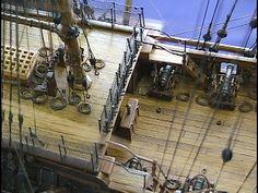 Модель парусной лодки завершена HMS Victory (HMS Victory) _ 1