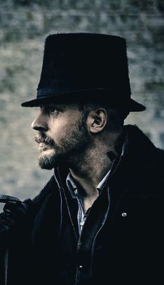 Tom Hardy . Taboo - so so beautiful I want to cry - damn you Tommy He did look incredibly hot/sexy in this role