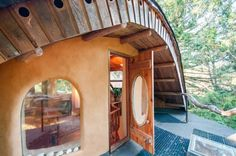 This Little House Looks Like a Fantasy Mushroom On the Outside … But The Inside? Amazing!
