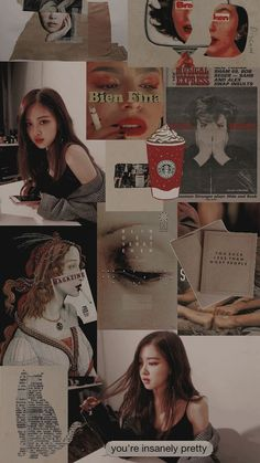 trendy ideas for wall paper rose blackpink Kpop Wallpaper, Wallpaper Rose, Lisa Blackpink Wallpaper, Trendy Wallpaper, Iphone Wallpaper, Aesthetic Header, Kpop Aesthetic, Aesthetic Dark, Blackpink Wallpapers