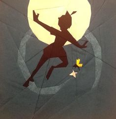 """Peter Pan by Katie Olson, tested by Gabriele Beck photo peter pan by katie olson_zpsgj9qtxld.jpg 10"""" Paper Pieced. A free paper pieced pattern from fandominstitches.com.   Free for personal and non-profit use only."""