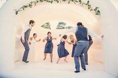 Wedding Bouncy Castle Entertainment from Confetti.co.uk--11 Wedding Entertainment Ideas