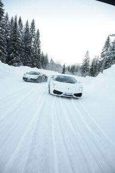 Lamborghini WINTER Driving Academy 2012