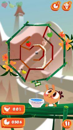 Baby Nom Nom - This game requires a lot of thought as well as strategy, speed and painstaking attention to detail. Its objective is simple: feed the cute baby. To do that, you'll first have to get through a maze full of twists and turns within a short amount of time. Play is controlled by rotation and you have to slide grains of rice through the course, making it even more challenging. It's well put together with colorful and charmingly cartoonish graphics. Click the image for our full…