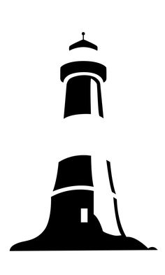 Lighthouse tattoo black and white