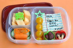 Super fun back to school lunch ideas!