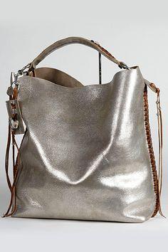 0888b873c5c Ralph Lauren - Women s Accessories - 2011 Spring-Summer Silver Tote Bags,  Metallic Bags
