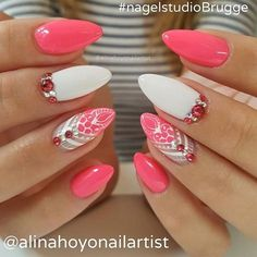 #beautiful #nails by @alinahoyonailartist #fashion #fashionable #fashionblogger…