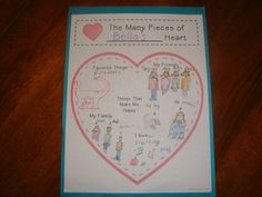 The Many Pieces of My Heart Puzzle, Writing Templates, and Craftivity- Great for launching Narrative writing! $