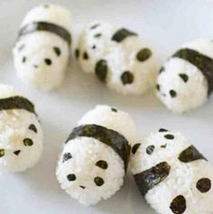 Ridiculously cute food
